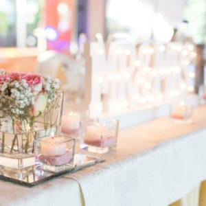 glas vase eckig würfel cubos quadrat blumen kerzen sunnydeko mieten und leihen
