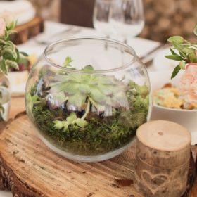 kugel vase kugelvase runde vase für blumen wasser mieten und leihen für hochzeit und vintage deko mit holz sunnydeko