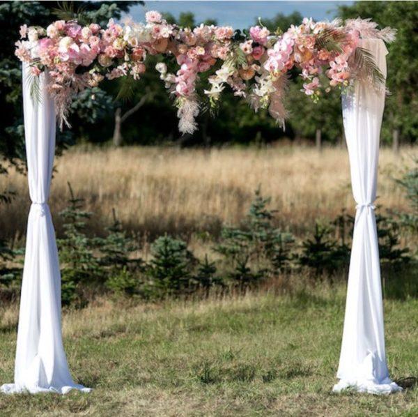 Blumengesteck Brully für Trau- oder Hochzeitsbogen (2 Meter)