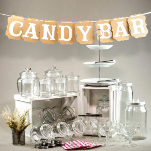 Candy Bar candybar buffet mieten gefäße gläser etagere dekoration verleih ideen stasevents 4