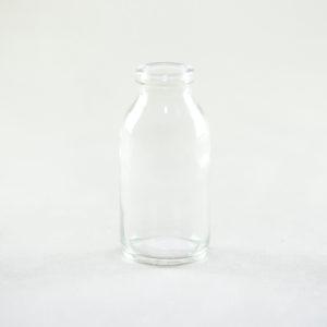Fläschchen Moli Flaschen Glas für Blumen als Tischdeko leihen für Hochzeit 1
