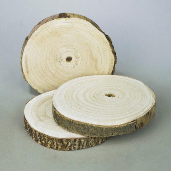 Holzdeko ausgebrannt birke behandelt mieten verleih für hochzeit holzdeko 1