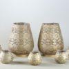 Kerzenständer St Kerzen Halter Orient orientalisch in gold mieten hochzeitsdeko arabisch verleih der dekoration 3