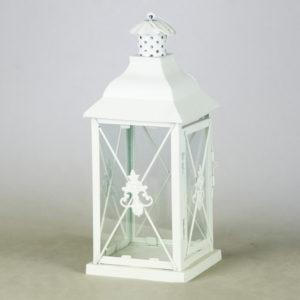 Laterne Windlicht Set Family Classic in weiss für Hochzeit mieten und Dekoration leihen beim Deko Verleih 1