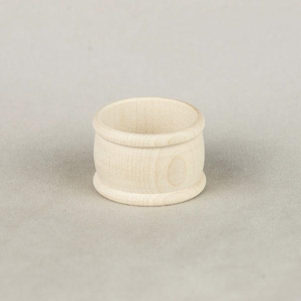 Ring für Servietten Ahorn Holz Serviettenring Stoff Dekoration leihen Natur Greenery 1