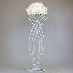 Ständer Säuöe Blumen Hochzeit freie trauung geschwungen geschwungener miente und leihen 2