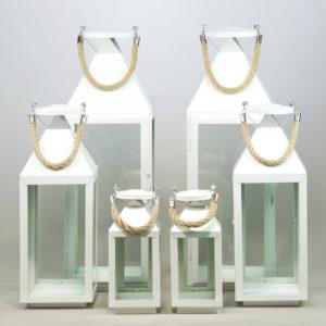 Windlicht Set Kordel Laternen für Kerzen mieten und leihen für Hochzeit von StasEvents 1