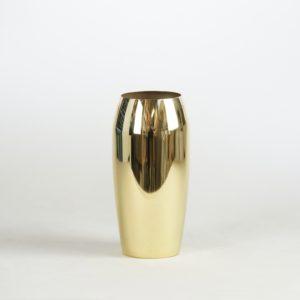 goldene Blumenvase Vase für Blumen in gold für Hochzeit leihen Dekorationsverleih für Hochzeitsdeko mieten 5
