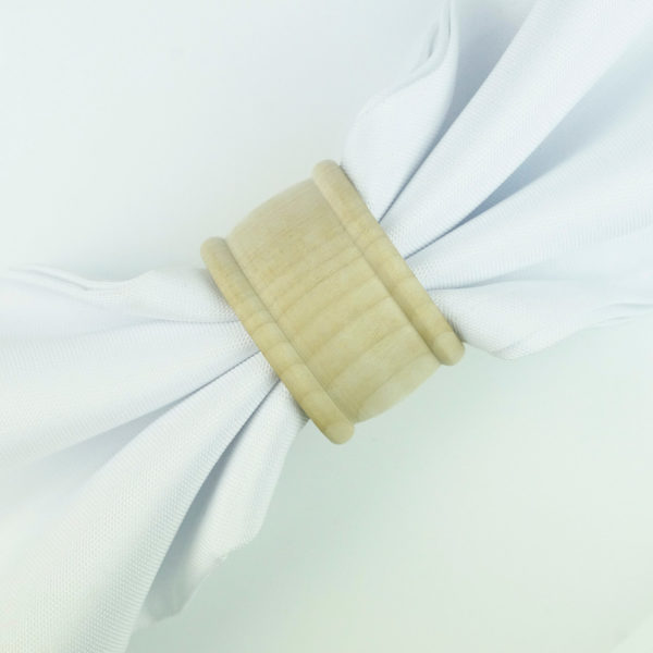 servietten ring ahon serviettenring für stoffservietten aus hellem holz für hochzeit