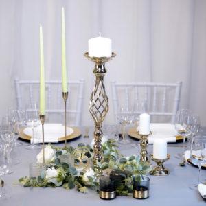 Boho- Tischdeko für Hochzeit leihen Tisch Dekoration mieten als Set verleih
