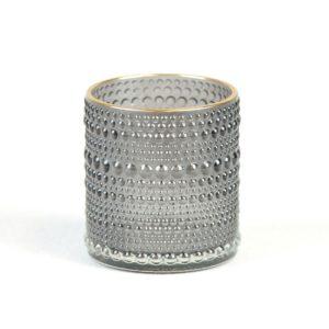 Blackyvin Whityvin Teelicht Glas BLumenglas Tischdeko für Hochzeit mieten beim Dekoverleih Stasevents aus Frankfurt Dekoration leihen 4