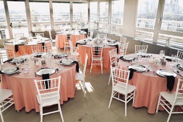 Hochzeitslocation Location Frankfurt Rhein Main Skyline Hochzeit und Event Dekoration 14