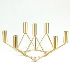 Kerzenhalter Kerzenständer Jummy gold stabkerzen 1