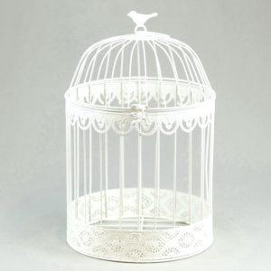Vogelkäfig geschenke box kartenbox für Hochzeit vintage mieten leihen 2
